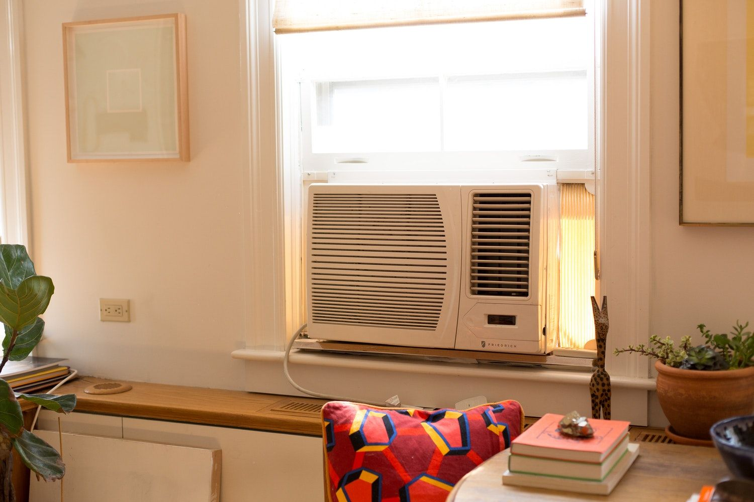 A Super Simple Way to Disguise a Window Air Conditioner in