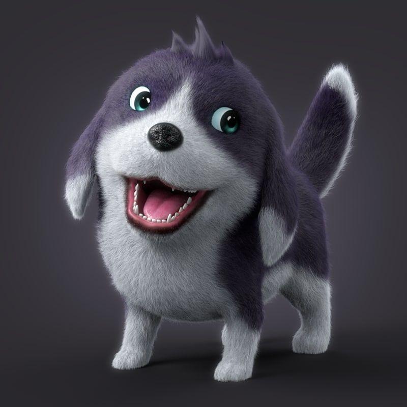 Cartoon Dog, My Pet Dog, Dog Animation