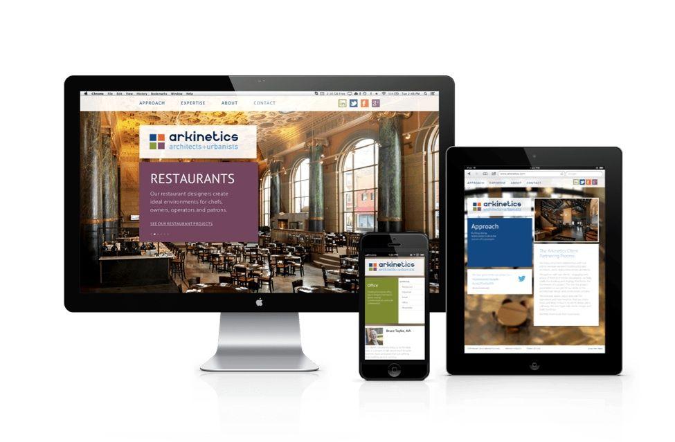 Arkinetics New Website Creative Websites Brand Marketing Web Design