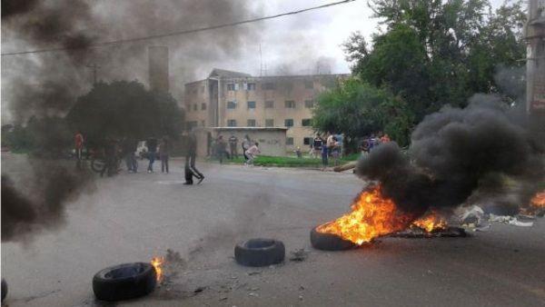 Hieren Conductor De Un Autobús Durante Protestas En Higüey