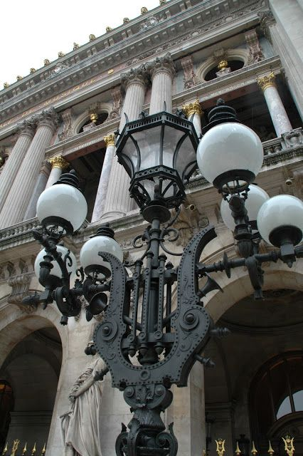 Palais Garnier Place de l'Opéra- Paris, France