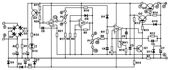 Paul\'s DIY electronics blog: Tuning a 0..30V DC 0..3A PSU DIY kit ...