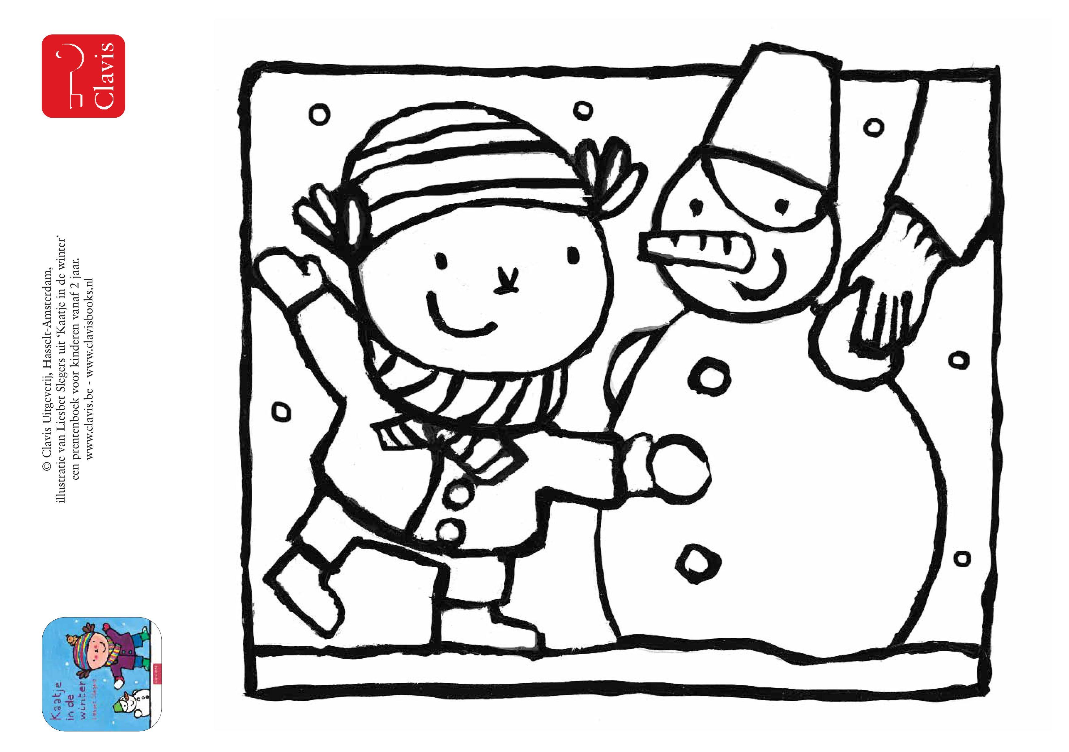 Kaatje In De Winter Hallo Ik Ben Kaatje Vandaag Is Het Ijskoud Warm Aangekleed Ga Ik Naar Buiten En Dan Valt Er Opeen Winter Winter Sneeuw Winter Knutselen