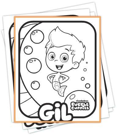 Bubble Guppies Coloring Book | Patrones varios | Pinterest ...