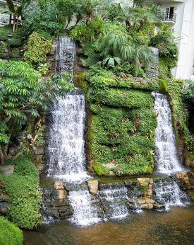 Indoor Waterfall Google Search Decoraciones De Jardin Fuentes