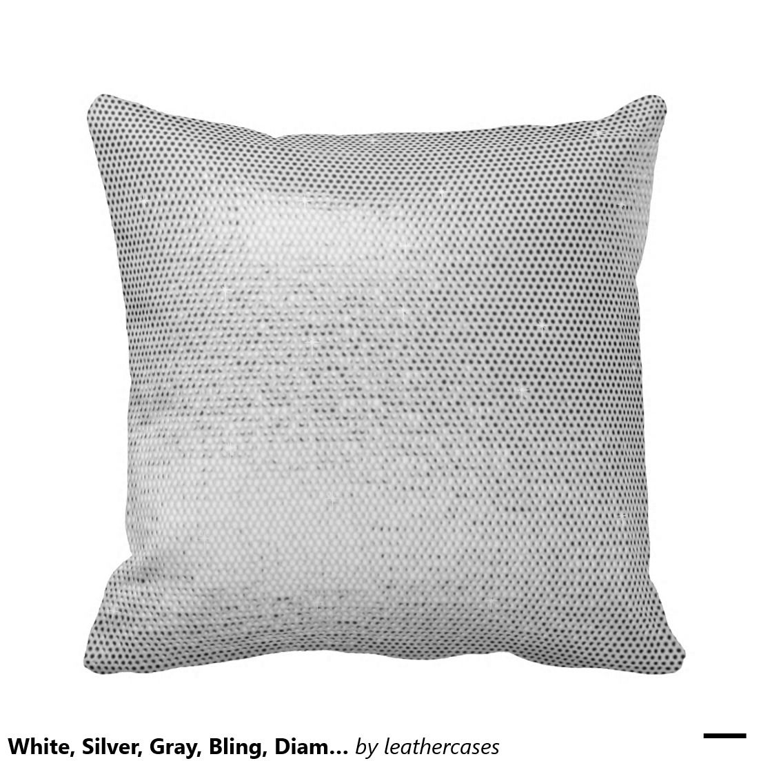 Cloud9 Design Rain Sequin Throw Pillow