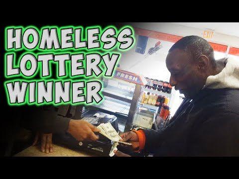 Homeless Lottery Winner - YouTube