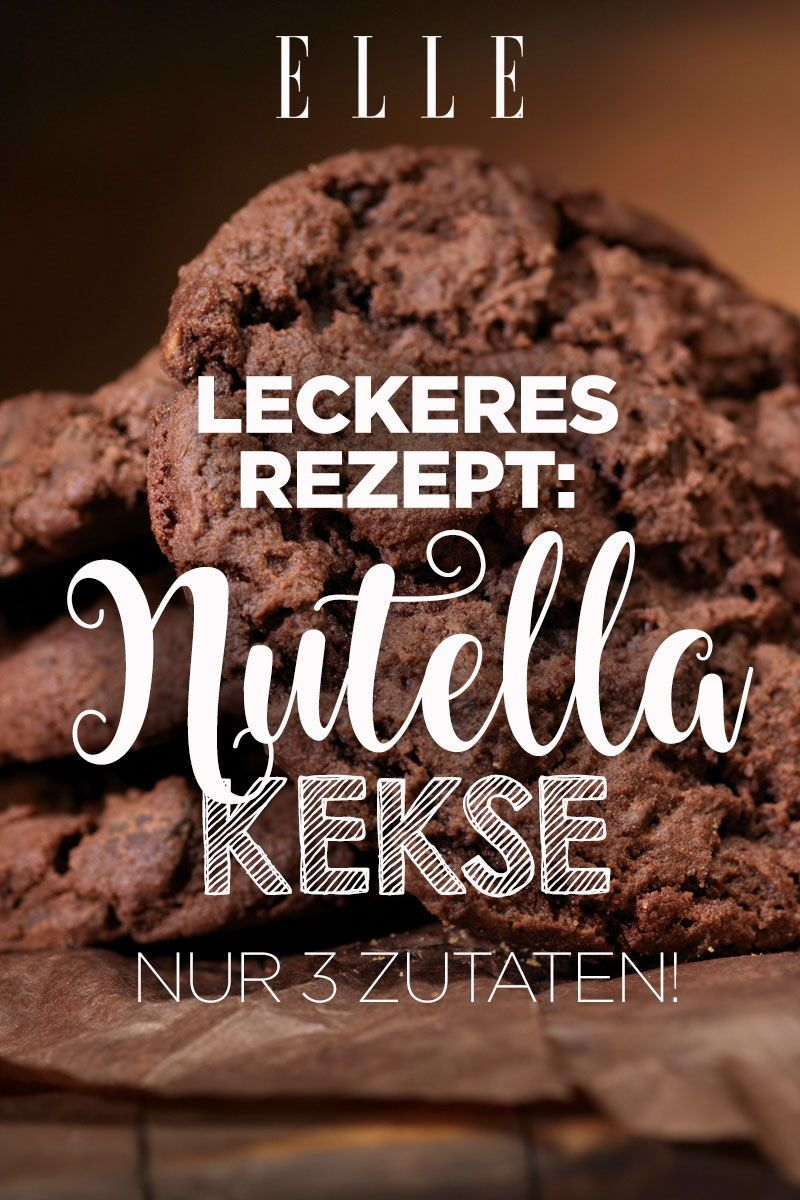 Photo of Nutella Cookies: The Easiest Recipe Ever ELLE