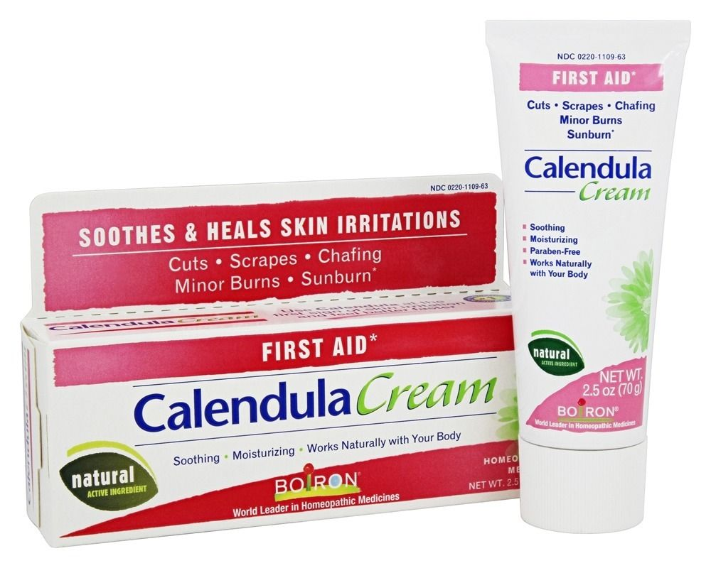 Calendula Cream Homeopathic Medicine for First Aid 2.5
