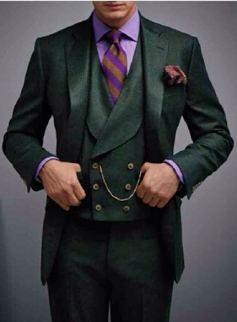 Love The Pocket Watch And Waistcoat Very Dapper Suits Suits