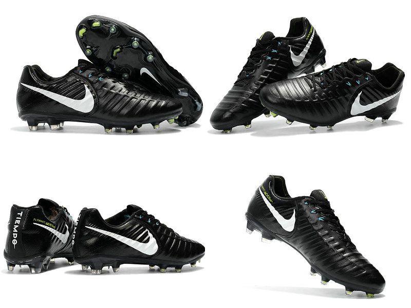 24711c682c3 New Nike Tiempo Legend VII FG Kangaroo Boots - Black White