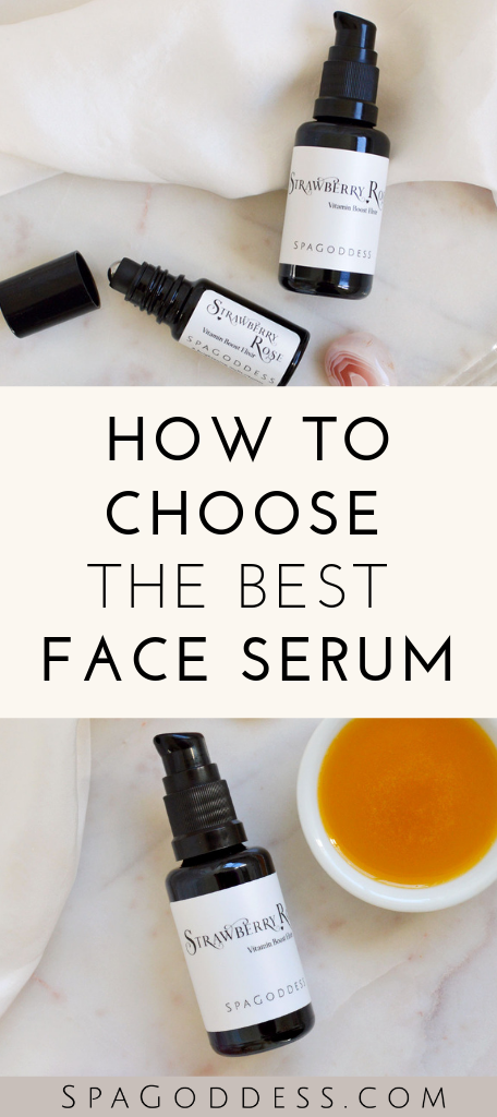How To Choose The Right Facial Serum For Your Skin Type Skin Care Face Serum Best Face Products