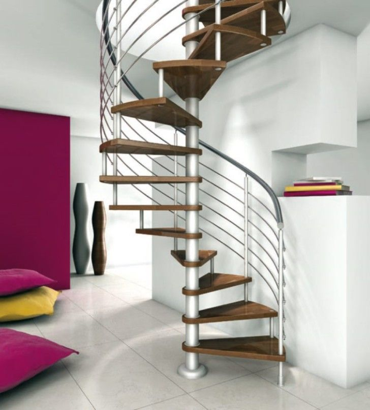 Interior: Smallest Spiral Staircase For Narrow Space. Modern Stairs. Build  Stairs. Floating