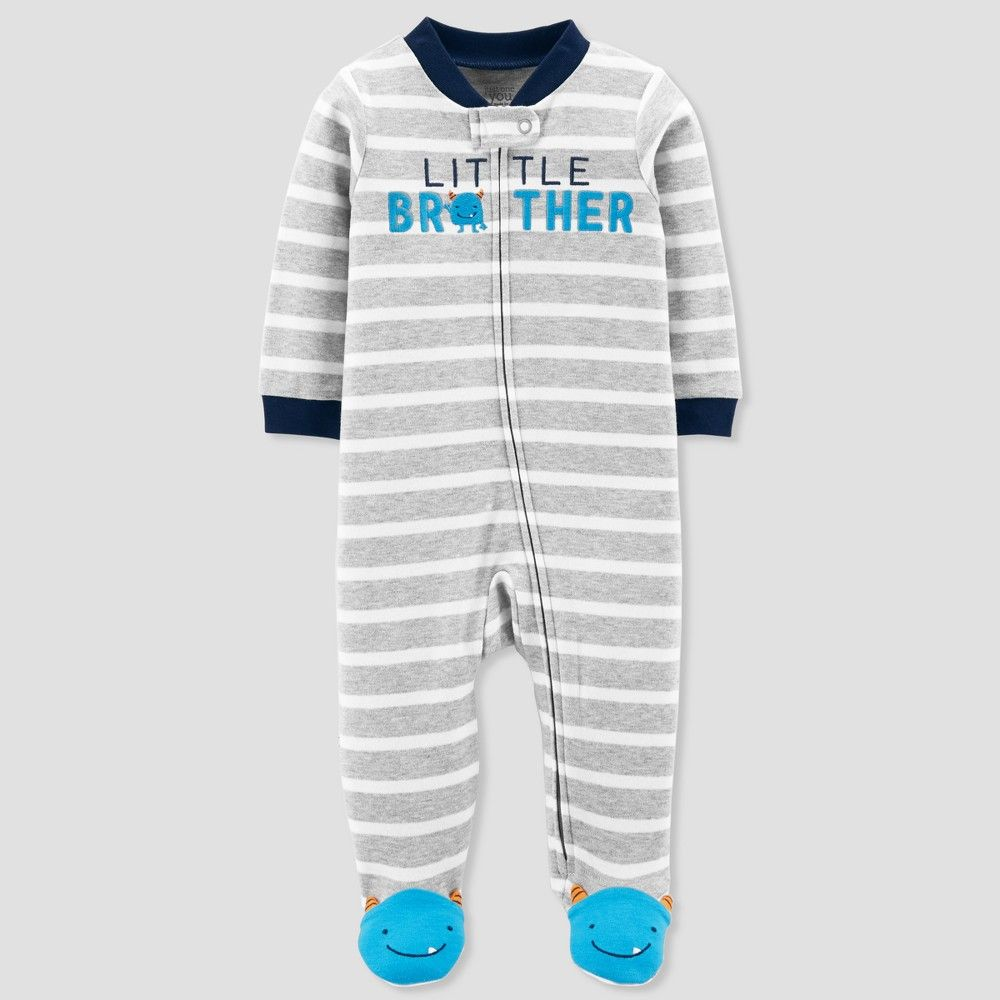 b3df7f5f9 Baby Boys  Little Brother Cotton Sleep N  Play - Just One You made ...