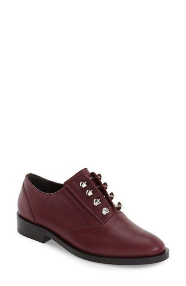 Balenciaga Leather Studded Oxfords wholesale price sale online perfect for sale free shipping eastbay cheap official site dRWLqd2