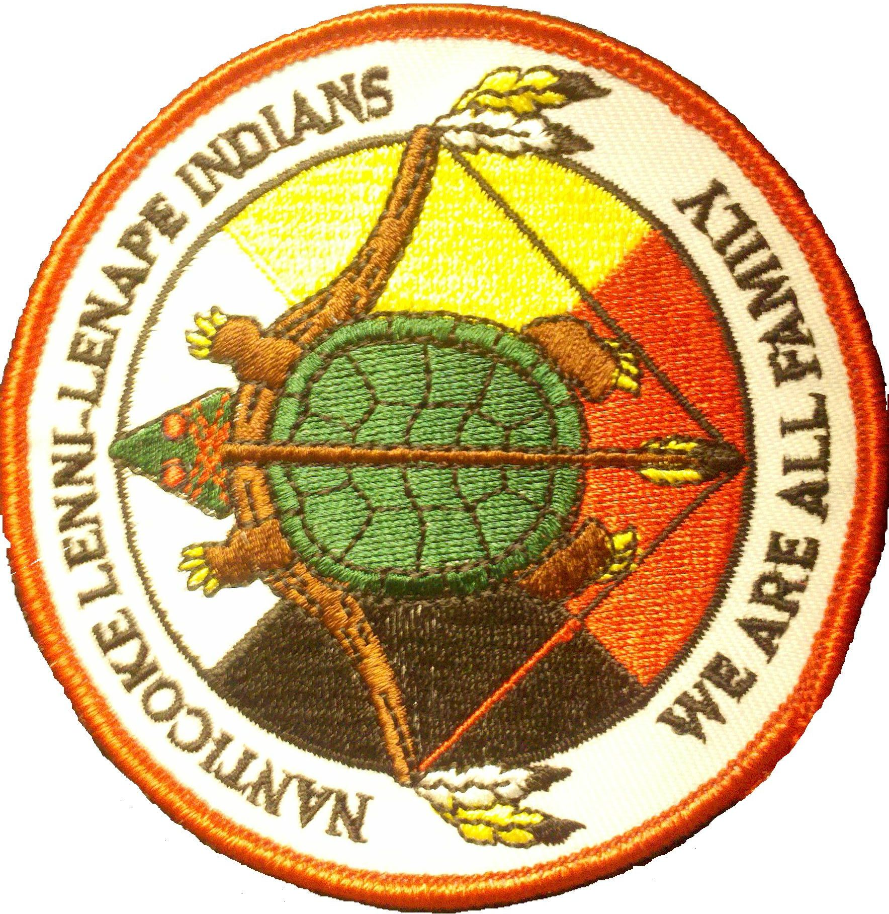 Native american tribal patches about us lenni lenape delaware native american tribal patches about us publicscrutiny Image collections