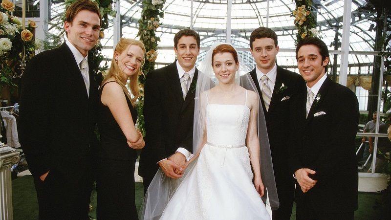 American Wedding 2003 Dir Jesse Dylan Stars Jason Biggs Alyson Hannigan Seann William