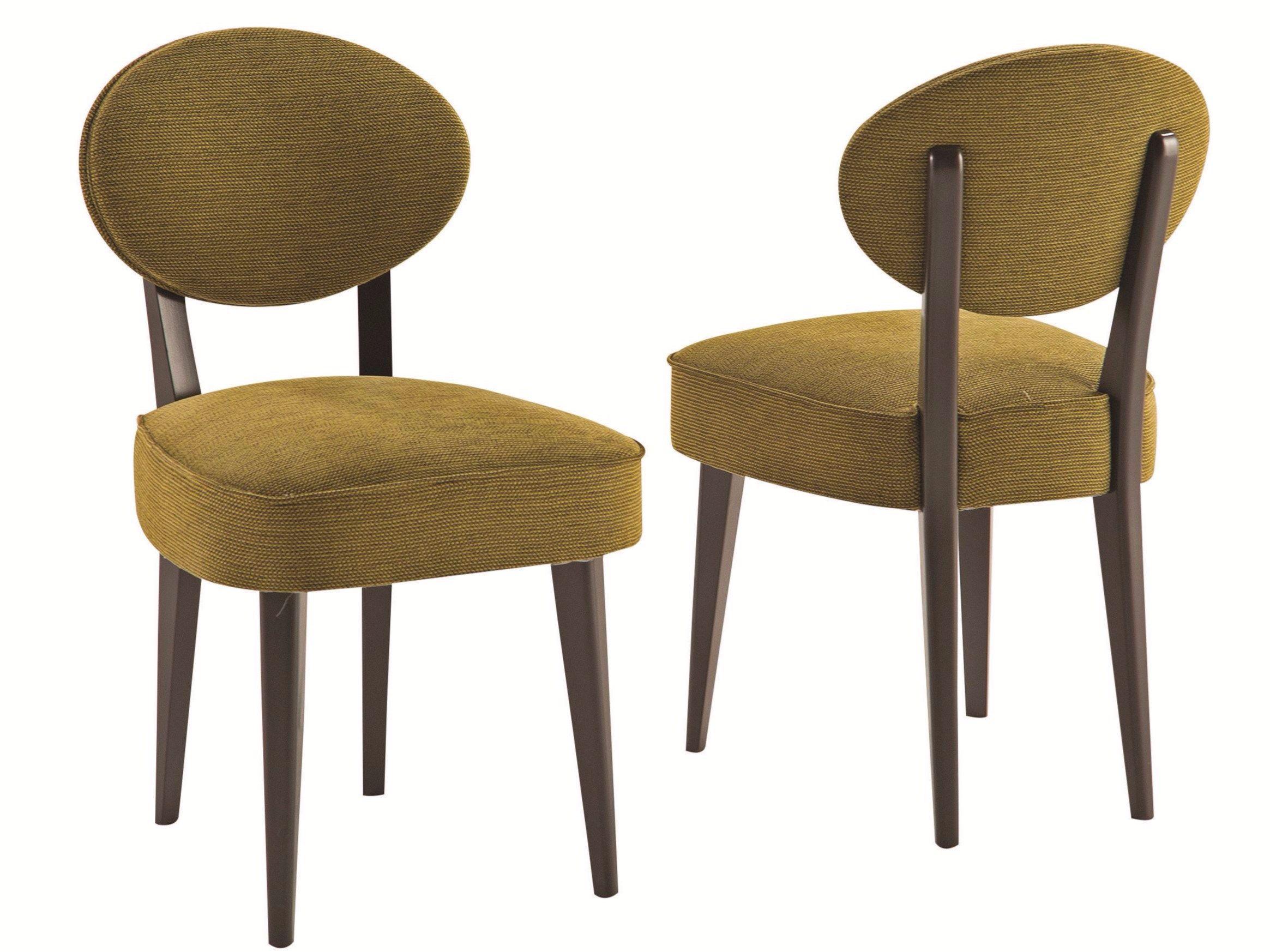 Sedia In Tessuto Con Schienale Aperto SPHERE Collezione Nouveaux Classiques  By ROCHE BOBOIS