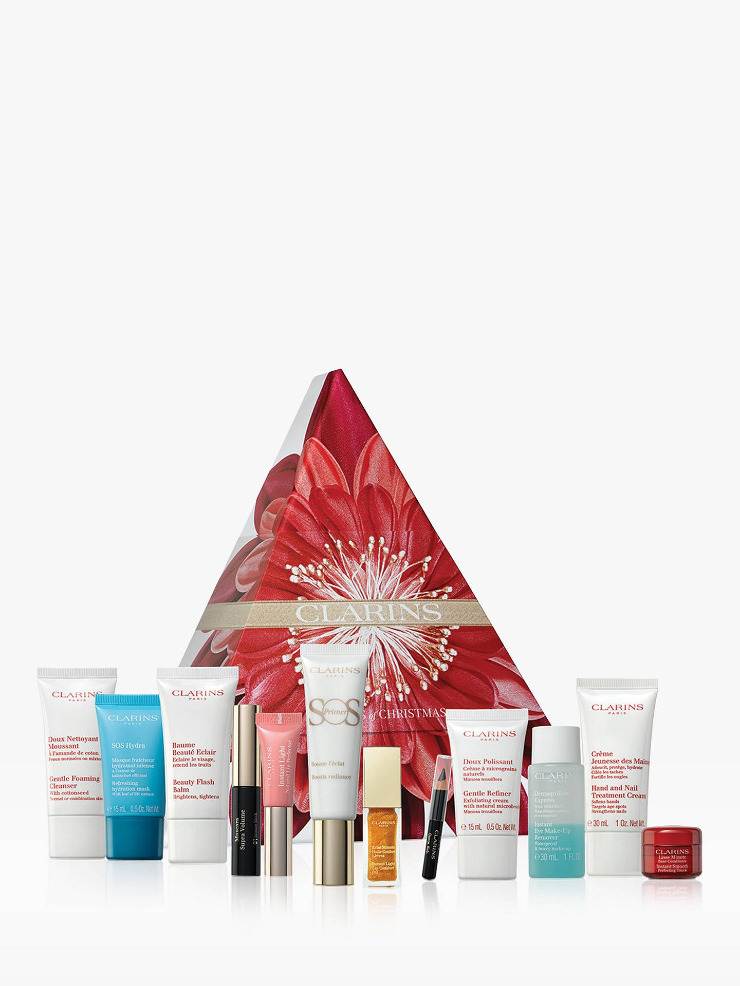 Clarins 12 Days Of Christmas Advent Calendar For Her 12 Days Of Christmas Christmas Advent Calendar