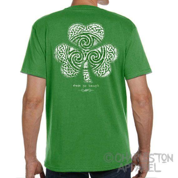 d501b5f59 St. Patrick's Day Shirt - Celtic Clover Shirt - Men's and Ladies Sizes -  Green Shirt - Celtic - Shamrock - Irish - St. Patty's Day