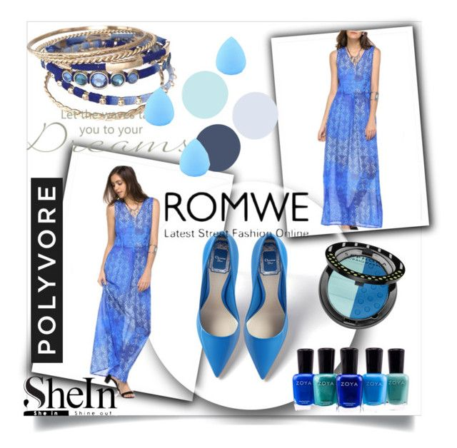 """""""ROMWE"""" by emma2000rad ❤ liked on Polyvore featuring Zoya, Sephora Collection and Zodaca"""