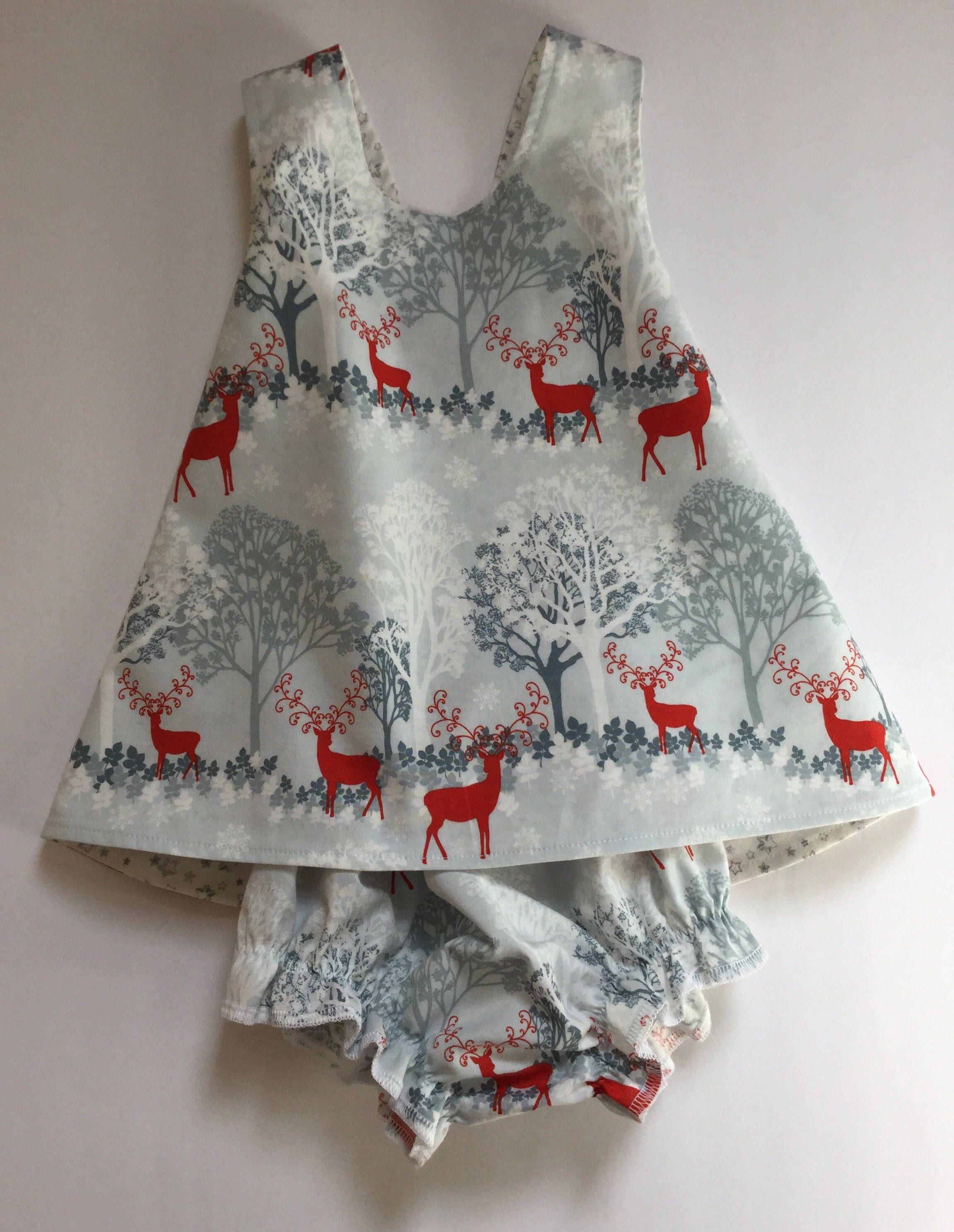 8e8777d6d Baby Girl Pinafore Dress