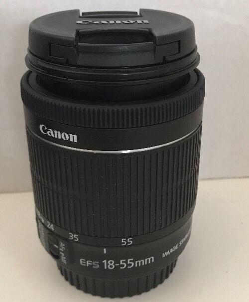 Canon Ef S 18 55mm F 3 5 5 6 Stm Is Lens Image Stabilizer Macro 25m 8ft Dslr Canon Photo Lens Canon Ef Lens