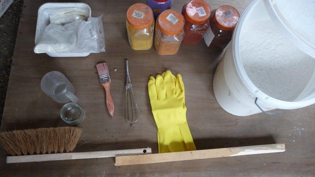 recette peinture la chaux recette pour loisir cr atif pinterest construction. Black Bedroom Furniture Sets. Home Design Ideas