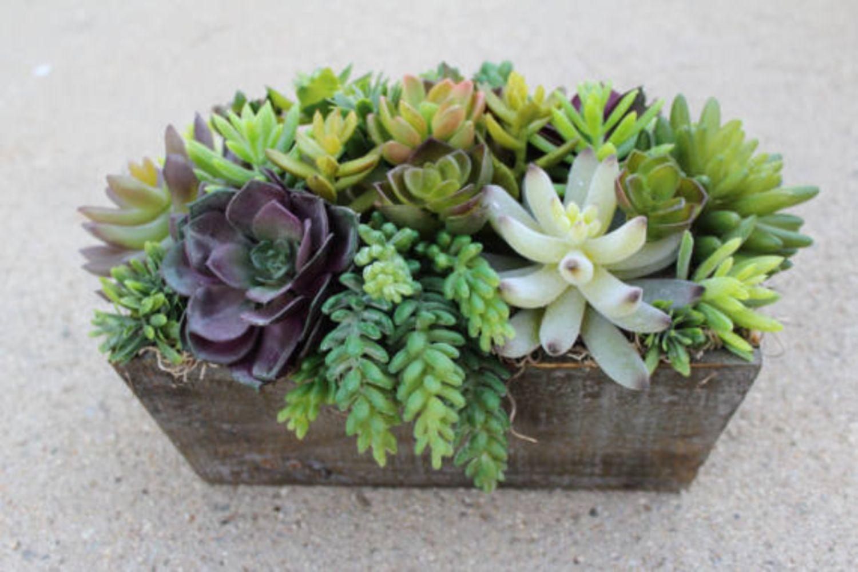 wonderful faux succulent arrangements ideas faux succulents