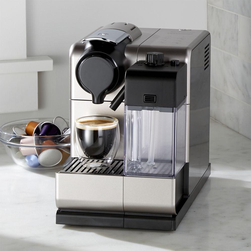 Delonghi Nespresso Lattissima Touch Espresso Maker Crate And Barrel Nespresso Capsule Coffee Machine Best Home Espresso Machine
