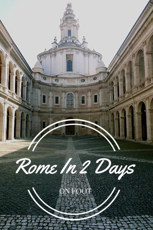 Roma is an amazing and expansive city, and sometimes you have to make the most of the 2 days you have! Here is my my itinerary for Rome In Two Days on Foot.