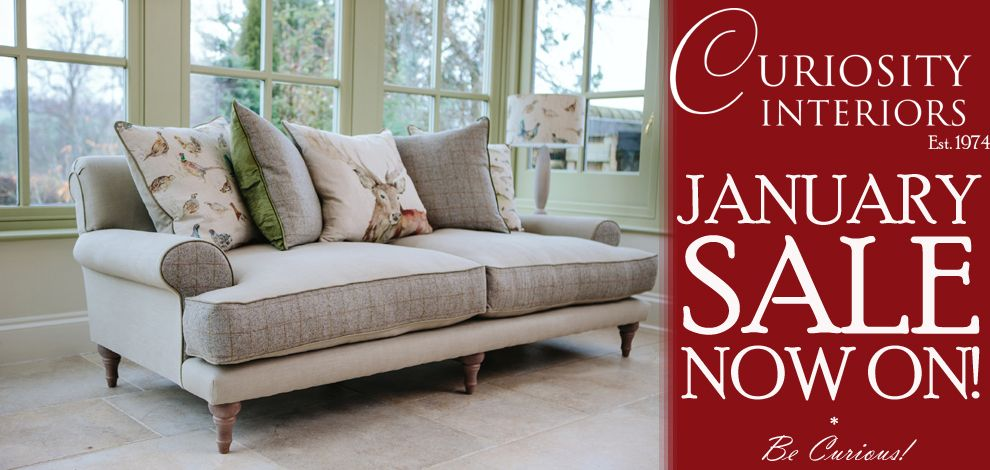 January Sale Now On At Curiosity Interiors Alfreton Get Up To
