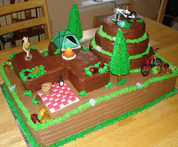 Cake Decorating Ideas Outdoors : girls birthday cake ideas Subscribe for all latest ...