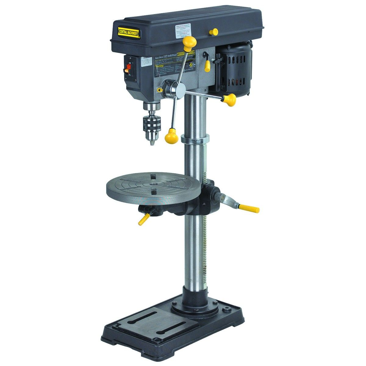 13 In 16 Speed Bench Drill Press Diy Projects Drill