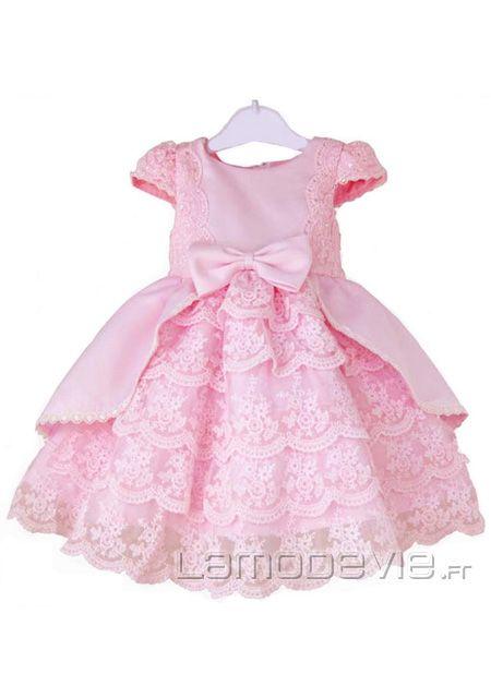 robe pour mariage cort ge enfant fillette rose robe de princesse enfants mariage pinterest. Black Bedroom Furniture Sets. Home Design Ideas
