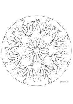 Spring Mandala Coloring Pages | Mandala coloring pages ...