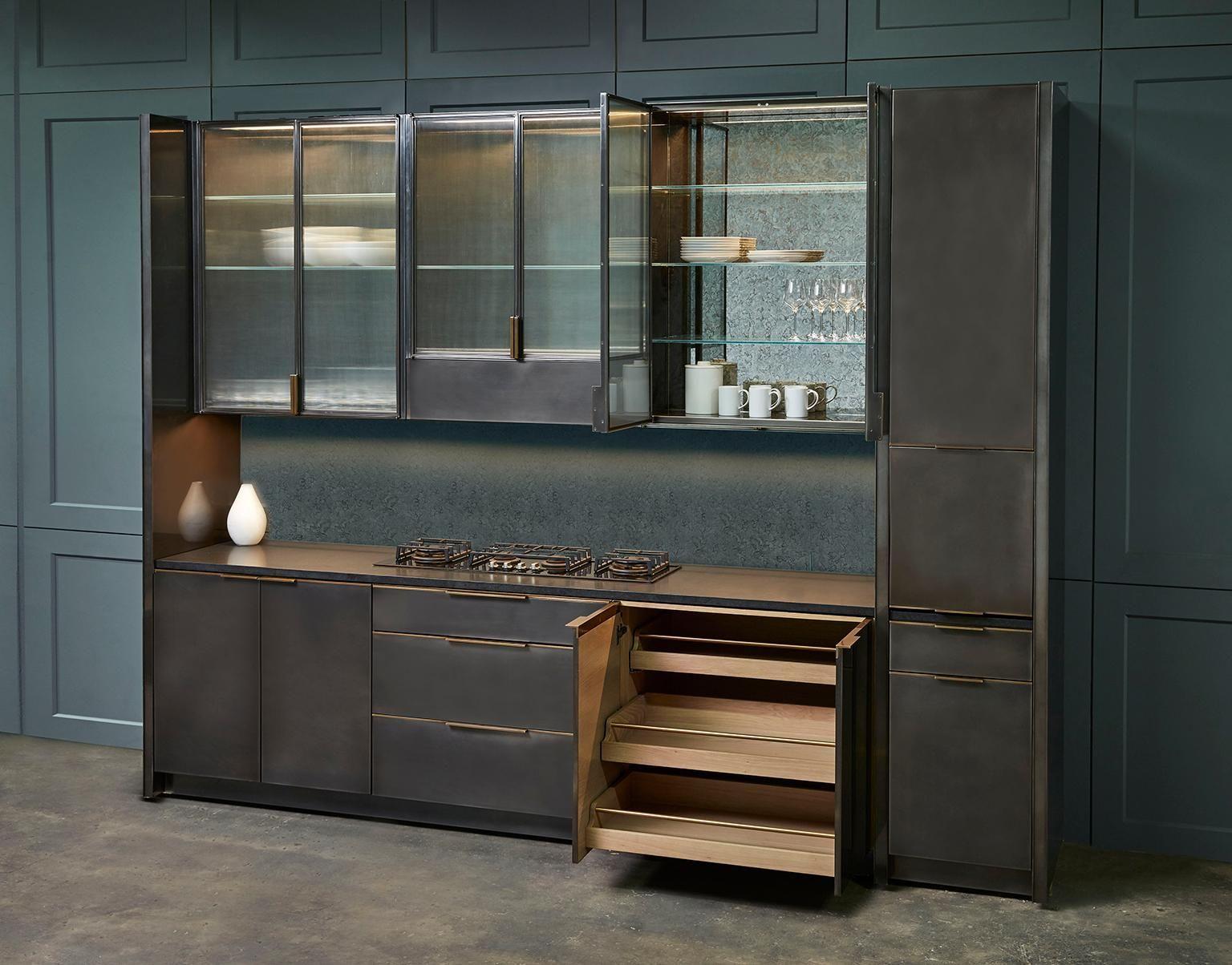 Amuneal's Gunmetal Kitchen Kitchen sale, Kitchen design