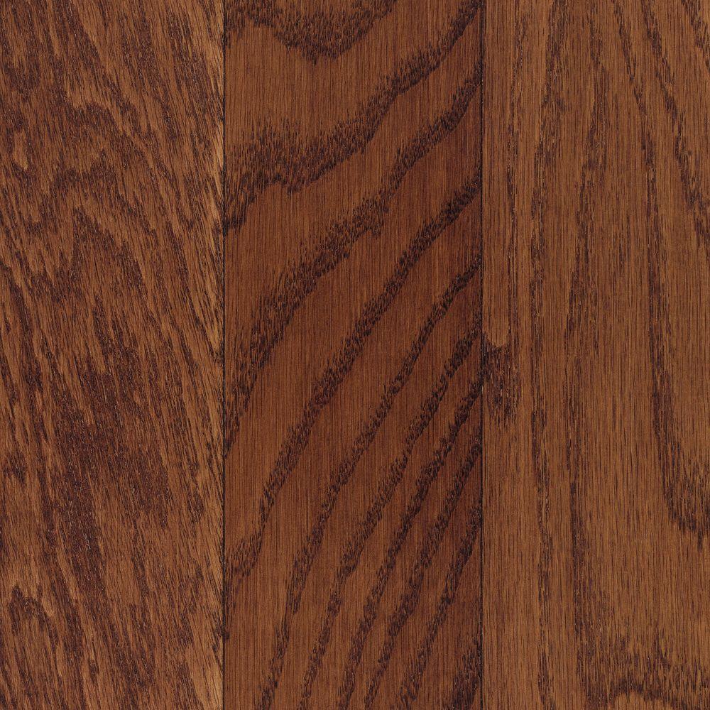 Mohawk Take Home Sample Oak Cherry Engineered Click Hardwood