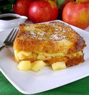 Apple-Stuffed French Toast
