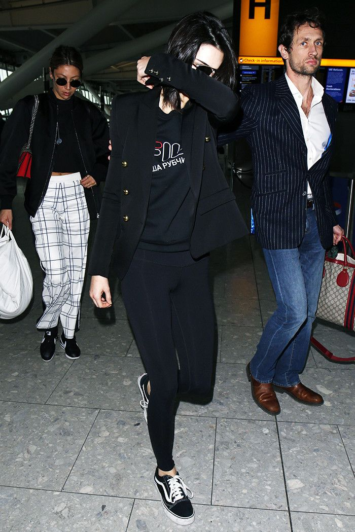 ce51c9c6485e Kendall Jenner has been wearing the same three sneaker styles on repeat  this fashion week circuit.