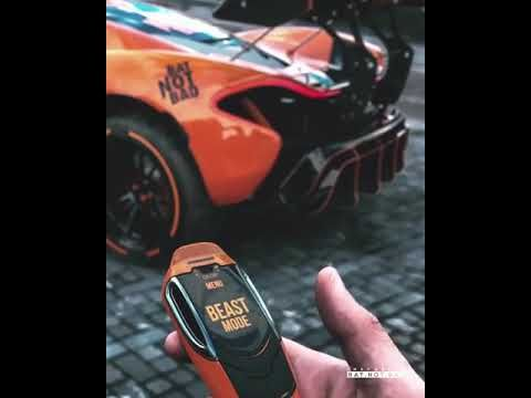 Concept Key For Mclaren P1 Beast Mode Button Supercar Car Cars