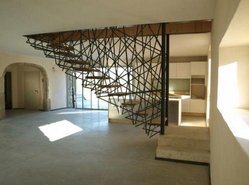BZCasa Magazine - http://mag.bzcasa.it/abitare/architettura-e-design/scale-da-interni-come-trasformarle-in-elementi-darredo-4361/