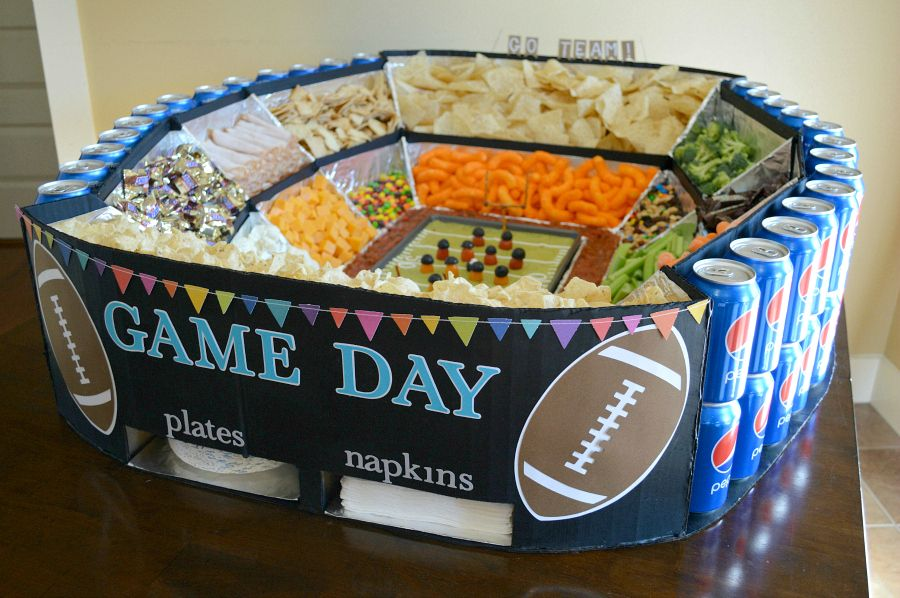 Super Bowl Snack Stadium Hall of Fame!