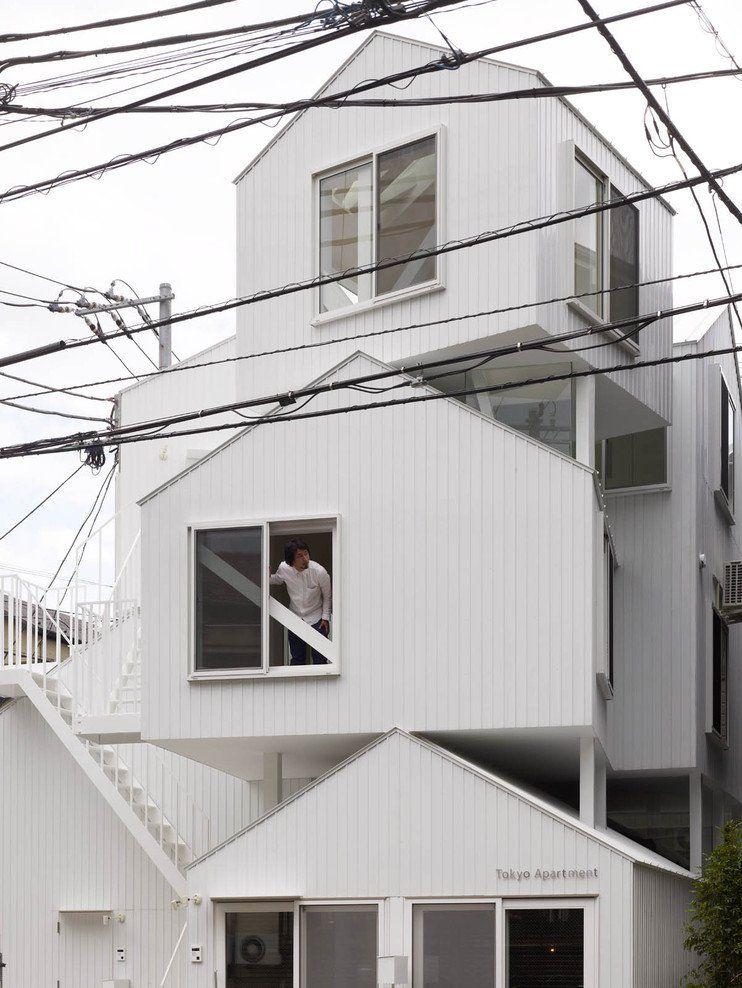 tokyo apartment sou fujimoto architects architecture pinterest tokyo unit s et b timent. Black Bedroom Furniture Sets. Home Design Ideas