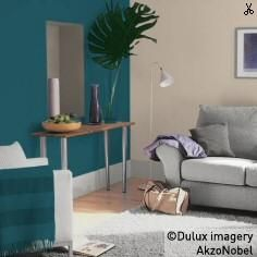 Using Dulux Teal Tension Beautiful Living Rooms Living
