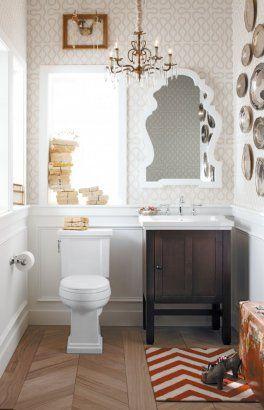 Tresham Bathroom Collection Kohler Chic Eclectic Bath