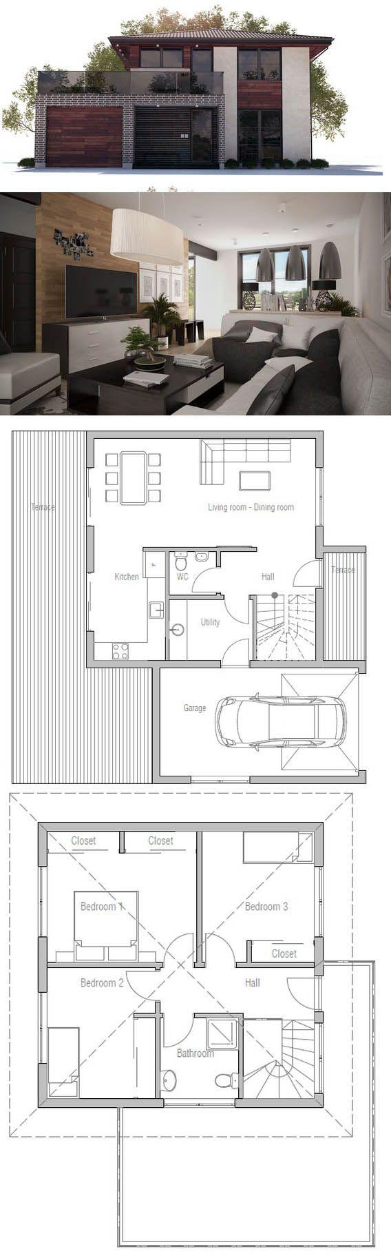 plan de maison type