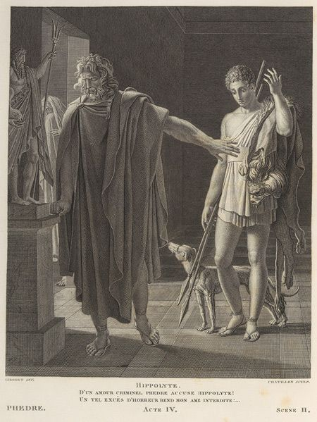 Theseus and phaedra
