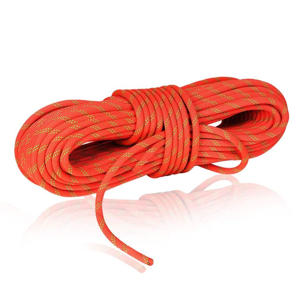 Newdoar 24kn 10mm 3 8in Rock Climbing Rope High Strength Accessory Cord Safety Ce For Outdoor Sur Climbing Rope Rock Climbing Rope Outdoor Survival