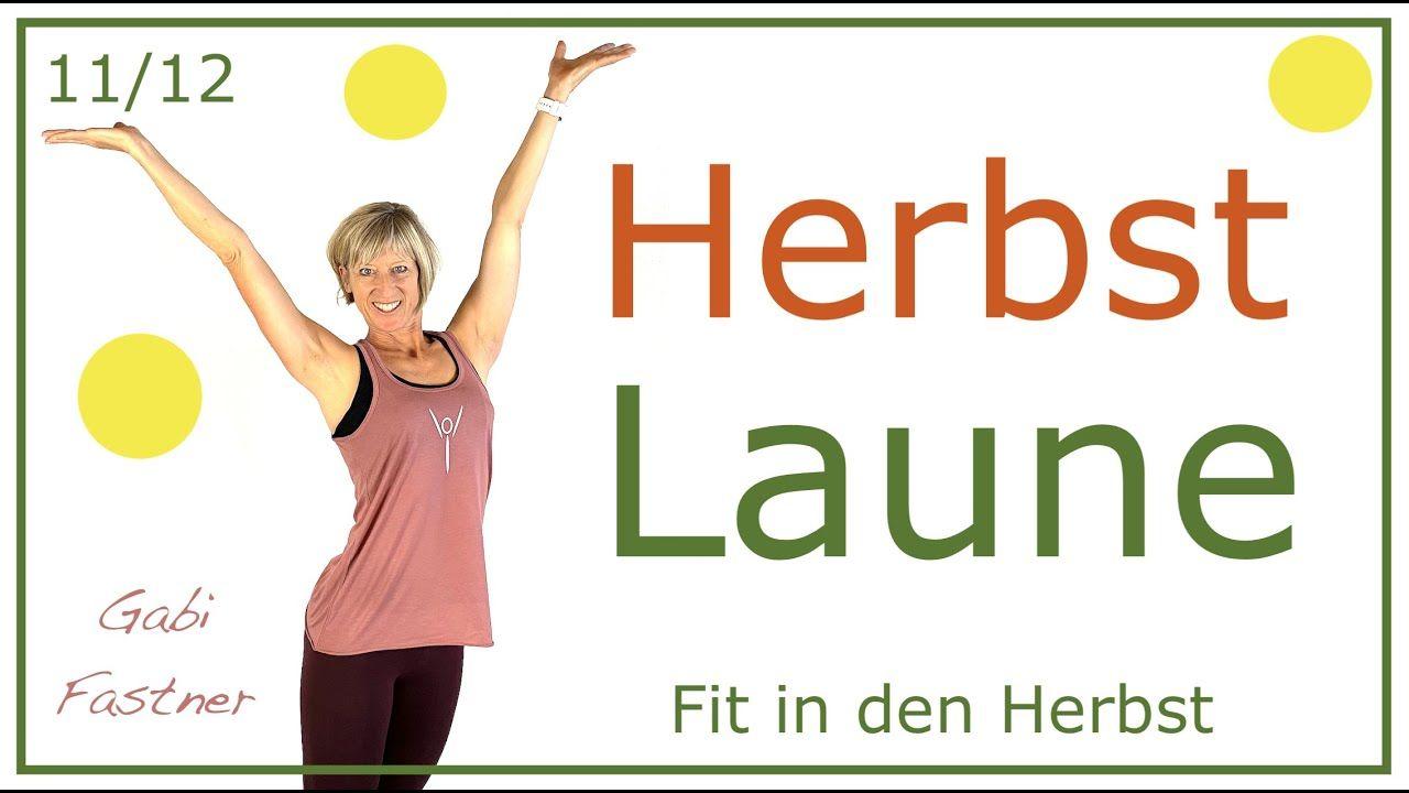 11/12 🐸 35 min. Herbst Laune mit Cardio Training   ohne Geräte Kalorien ...
